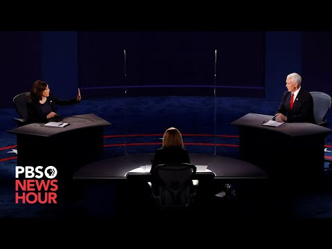 WATCH: The full 2020 vice presidential debate