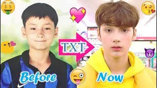 TXT HUENINGKAI - Predebut Vs Now : Before and Now