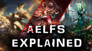 The Aelfs races EXPLAINED by an Australian | Age of Sigmar Plot and Lore