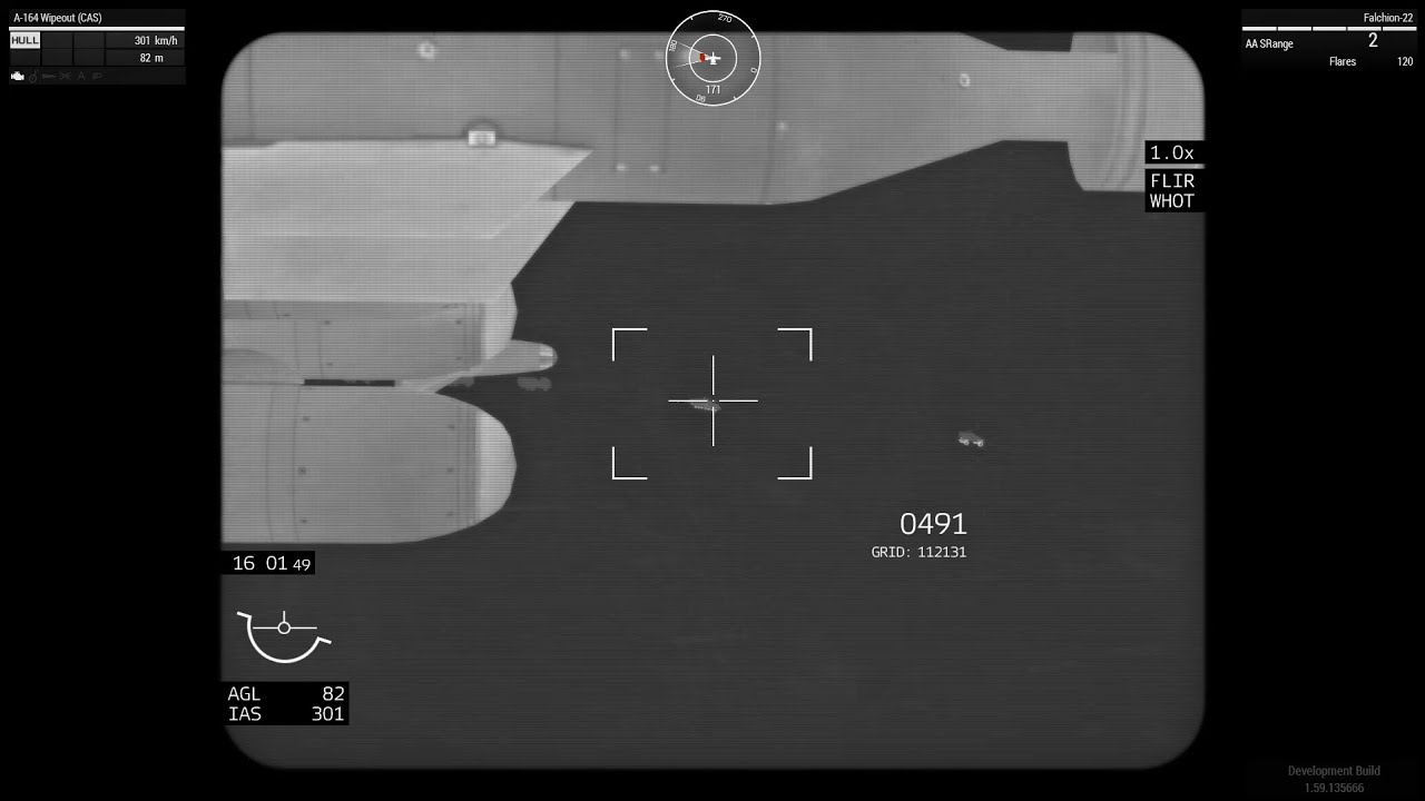 Arma 3 - A-164 Wipeout - Targeting Pod (WIP) - Самые лучшие