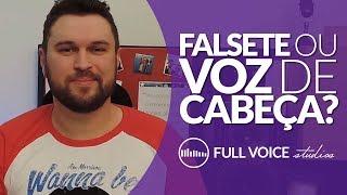 Técnica Vocal - Falsete vs Voz de Cabeça - Qual a diferença?