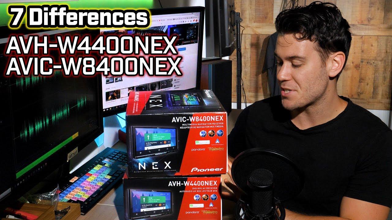 7 Differences Pioneer Avh W4400nex Vs Avic W8400nex Youtube Best Head Unit Wiring Diagram Alpine