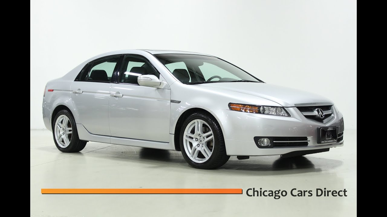 chicago cars direct presents a 2008 acura tl 3 2l navigation in