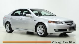 Chicago Cars Direct Presents a 2008 Acura TL 3.2L Navigation in High Definition