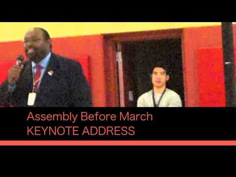 MLK, JR Middle School Goes on March