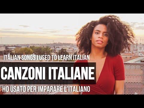 CANZONI ITALIANE | PER IMPARARE L'ITALIANO 🇮🇹 (Songs I Used to Learn Italian) [ENG CC]