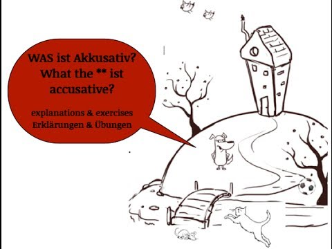 Learn German grammar: the accusative object | A1 + refresher