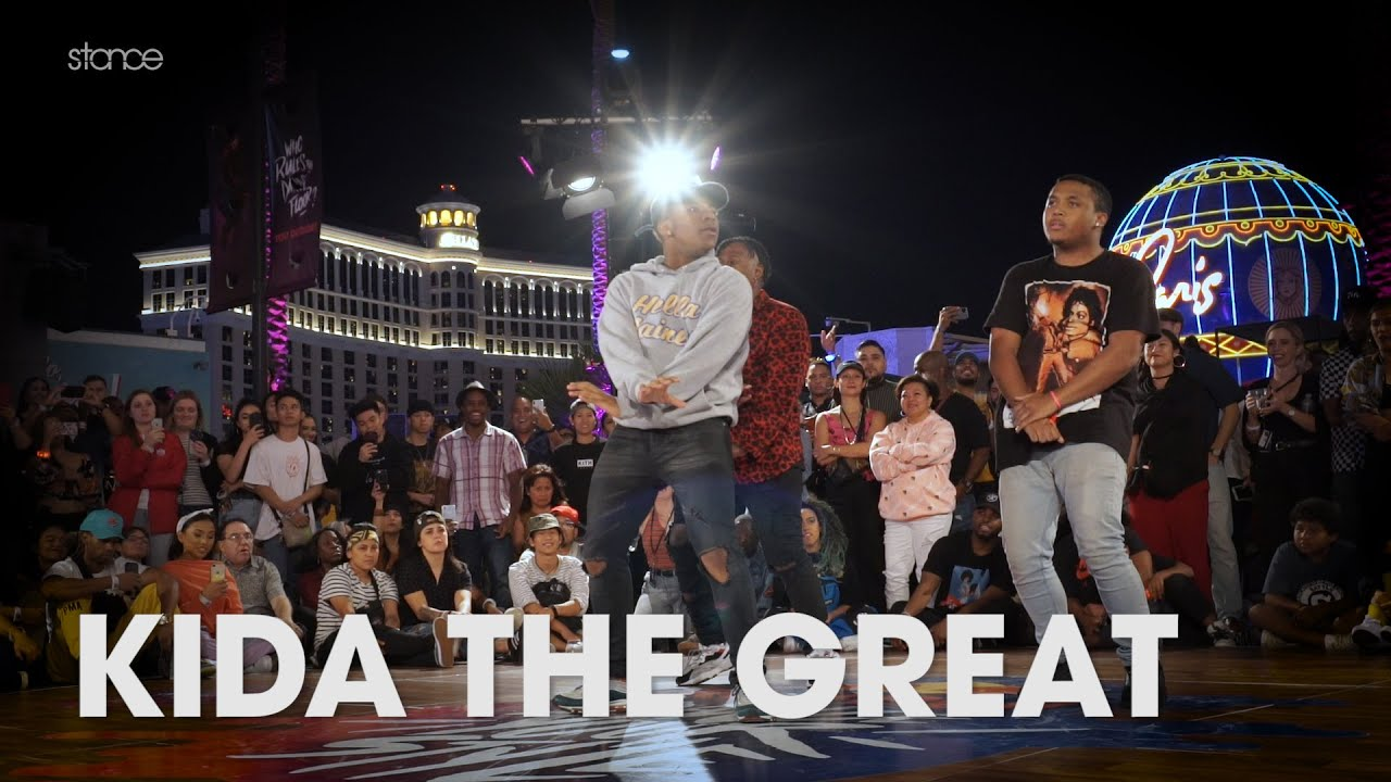 KIDA THE GREAT // .stance // showcase at Red Bull Dance Your Style USA 2019
