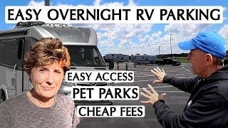 Where Can We Stay? Easily Accessible Spots To RV Overnight!