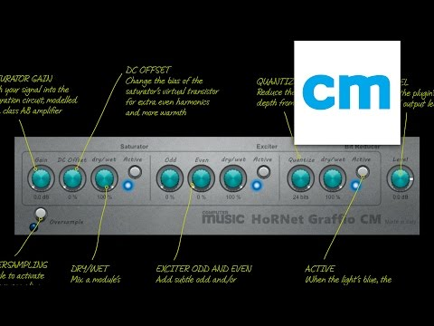 FREE VST/AU/AAX/RTAS distortion plugin: HoRNet Graffio CM | MusicRadar