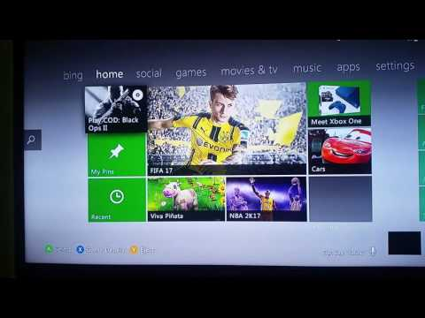 How to change your bio,location,and name on the Xbox 360 2016