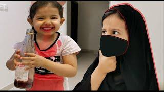 ميادة جننت أمها في صيامها #يوميات_أميرة_وميادة