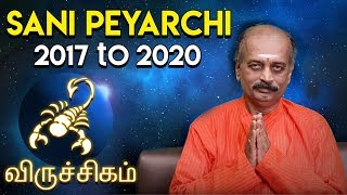 Sani Peyarchi Palangal 2017 - Viruchiga Rasi - Scorpio | by Srirangam Ravi | 7338999105/81443 66588