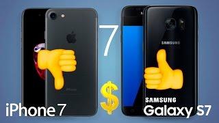 ¡7 Razones para Comprar el Galaxy S7 y NO el iPhone 7!