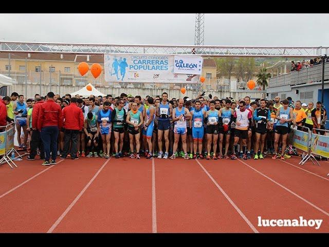 Vídeo: La IV Media Maratón de Lucena espera alcanzar el millar de corredores