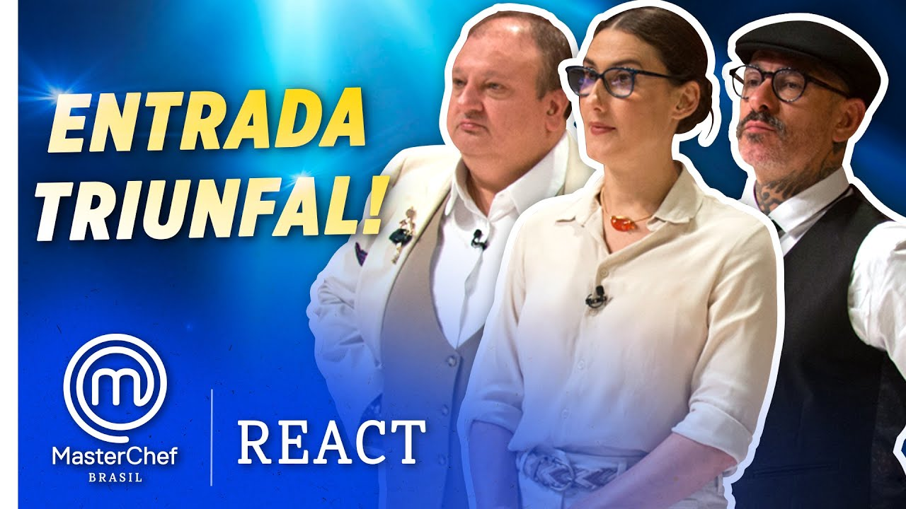 MASTERCHEF BRASIL REACT: VOCÊ NÃO TÁ LIGADO!