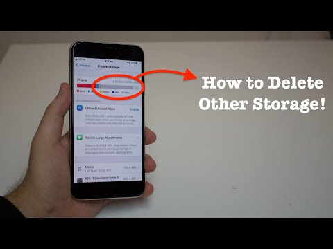 iPhone Other Storage: How To Delete It!