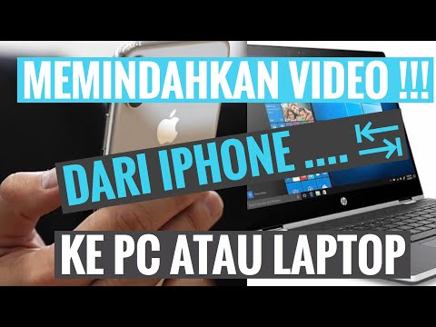 Cara memindahkan video dan foto dari PC/Laptop ke iPhone tanpa menggunakan iTunes. Transfer atau mem.