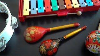 видео Детские музыкальные инструменты