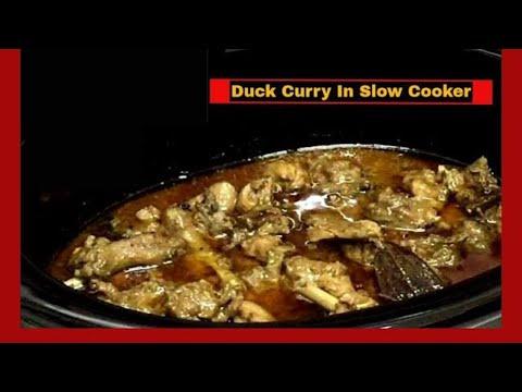 Duck Curry In Slow Cooker~ স্লো কুকারে হাঁসের কারি ~ Winter Special ( Eng. Subtitles)
