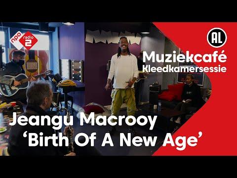 Kleedkamersessie: Jeangu Macrooy - Birth Of A New Age | live in Muziekcafé
