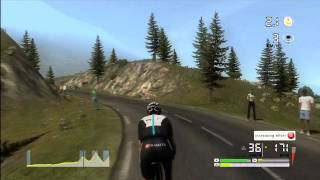 "Tour de France 2011 - XBOX 360 ""Incredible descent, and no Crash!"""