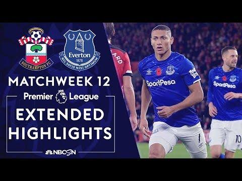 Southampton V. Everton   PREMIER LEAGUE HIGHLIGHTS   11/09/19   NBC Sports