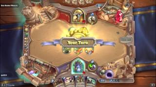 Hearthstone - League of Explorers - Warrior & Warlock Challenge