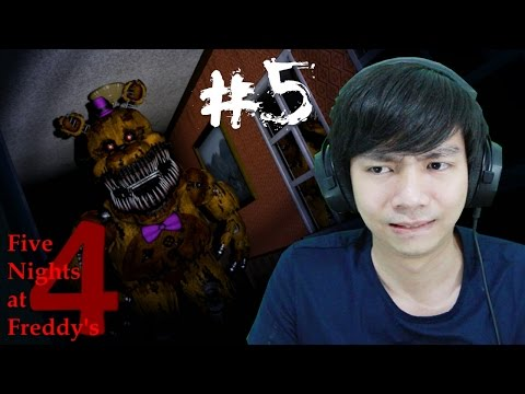 Five Nights at Freddy's 4 - Night 5 - Indo Gameplay - Part 5
