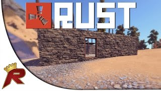 "Rust Gameplay - Part 1: ""Stealing a Base!"" (Multiplayer)"