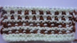 2 простых рисунка  для  вязания  тапочек или пинеточек