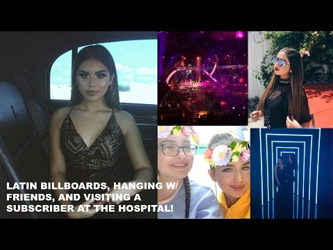 LATIN BILLBOARDS, HANGING W/ FRIENDS, AND VISITING A SUBSCRIBER AT THE HOSPITAL!