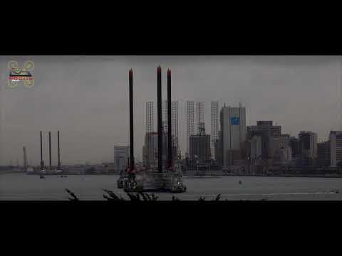Egina FPSO & Lagos Harbor in 30 seconds