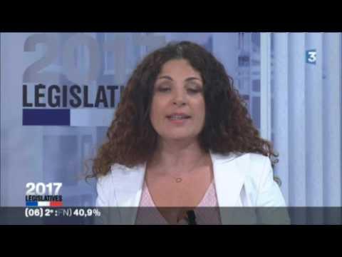 LÉGISLATIVES 2017 en PACA 2nd tour - Soirée législatives en Côte d'Azur - Partie 3