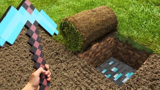 TOP 5 Minecraft In Real Life Animations irl