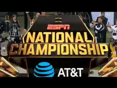 Deshaun Watson's Highlights vs Alabama 2017 National Title Game (463 yards and 4 TD's)