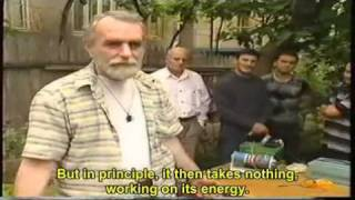 Repeat youtube video Tariel Kapanadze - Generator de energie gratuita - 5KW