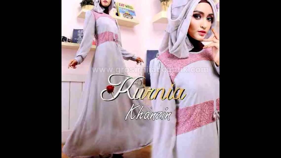 Baju Muslim Gamis Syar I Modern Terbaru Trendy Harga Murah Khanzin