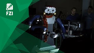 Making-of FZI Christmas Robotics 2018