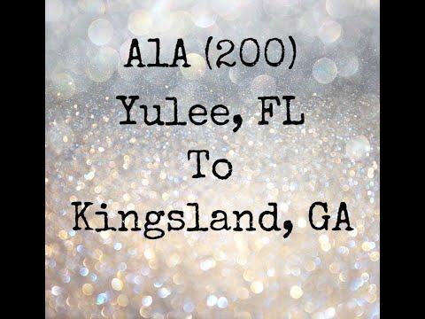 A1A (200) Yulee Fl To Kingsland GA.  7/27/18