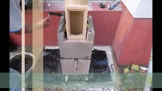 leier kémény kültéri, kémények pántolása, leier kémény építése ár 06-70-285-93-93