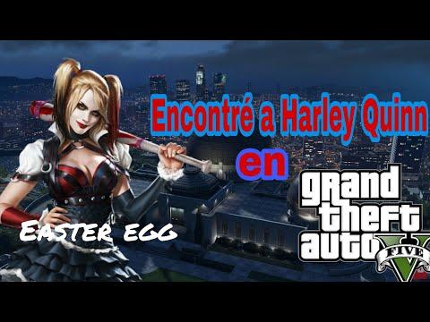 GTA V: Encontré a Harley Quinn! (Easter egg/Referencia)