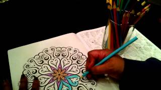 ASMR Coloring Book  Sounds (whispering, gum chew, hard candy eating and pencil and paper sounds)