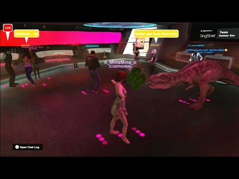 Playstation Home - The SingStar Rooms