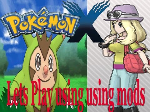 Pokemon X And Y Lets Play Part 1 With A Serena Mod Youtube