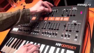 mmag.ry: Musikmesse 2015 - Arp Odyssey - аналоговый синтезатор