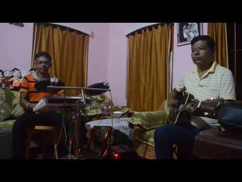 Sohag Chand Badani Dhoni    Guitar Cover    Avranil Das Silchar 2016