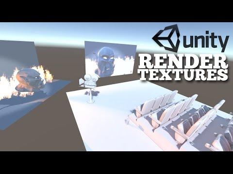 Render Texture Basics (Unity 5) - YouTube