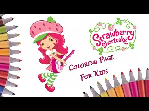 Top 20 Free printable Strawberry Shortcake Coloring Pages Online | 360x480