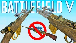The Assault DMRs destroy the Semi-Auto Snipers in BF5